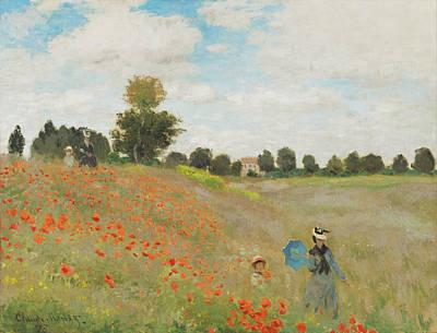 Rustic 18 Monet Poster by David Bridburg