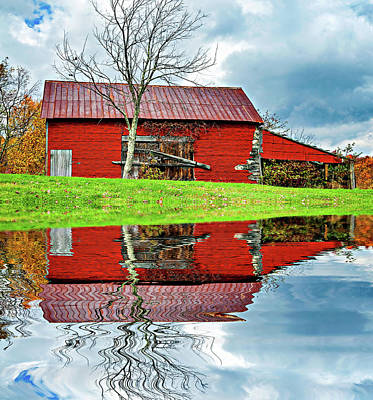 Rustic Charm 2 - Reflection Poster