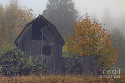 Rustic Fall Poster by Larry Keahey