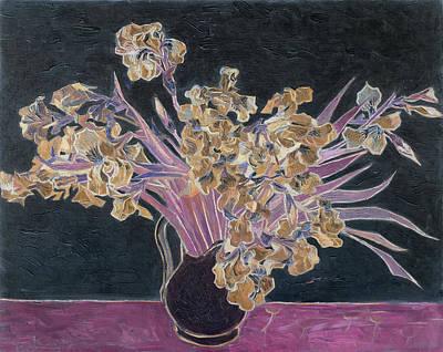 Rustic II Van Gogh Poster by David Bridburg