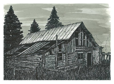 Rustic Old Barn Poster