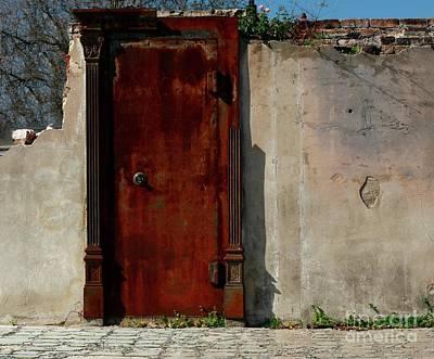 Poster featuring the photograph Rustic Ruin by Lori Mellen-Pagliaro