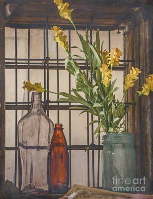 Rustic Still Life 2 Poster by Teresa Wilson