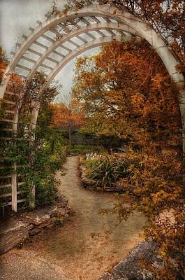 Rusting Garden Poster