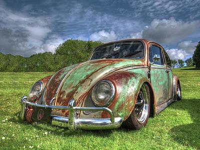 Rusty Bug - Vw Beetle Poster