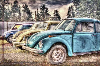 Poster featuring the photograph Rusty Bugs by Jean OKeeffe Macro Abundance Art