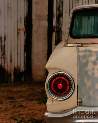 Rusty Car Poster