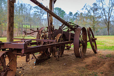 Rusty Farming Poster