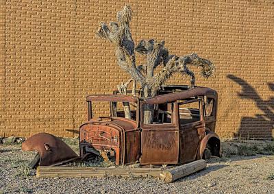 Rusty In The Desert Poster