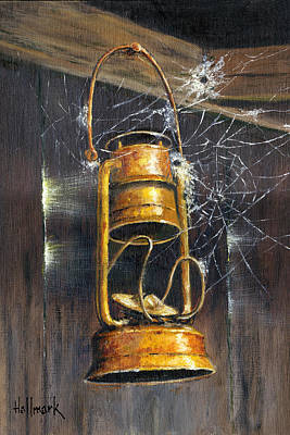 Rusty Lantern Poster