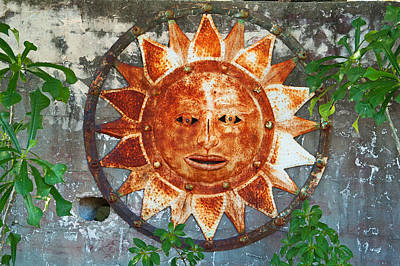 Rusty Sun Poster
