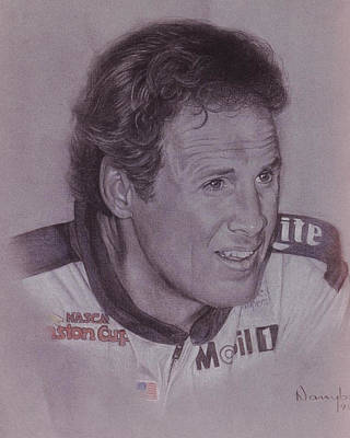 Rusty Wallace Poster by Nanybel Salazar