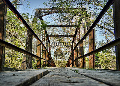 Englewood Bridge Poster by Cricket Hackmann