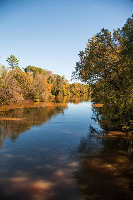 Sabine River Near Big Sandy Texas Photograph Fine Art Print 4093 Poster by M K  Miller