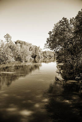 Sabine River Near Big Sandy Texas Photograph Fine Art Print 4095 Poster by M K  Miller
