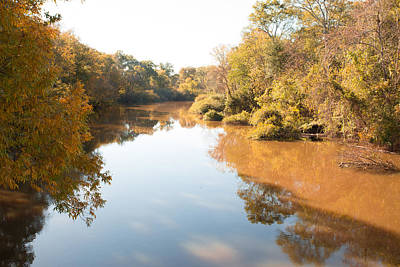 Sabine River Near Big Sandy Texas Photograph Fine Art Print 4106 Poster by M K  Miller