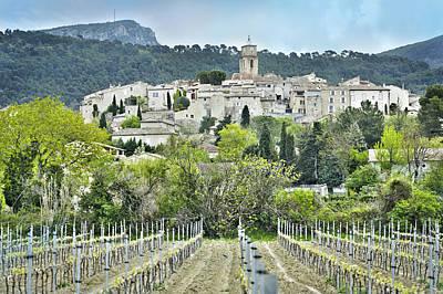 Sablet, Provence, France Poster