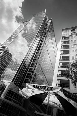 Sabrett Of Charlotte In Black And White Poster