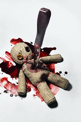 Sack Voodoo Doll Poster by Jaroslaw Blaminsky