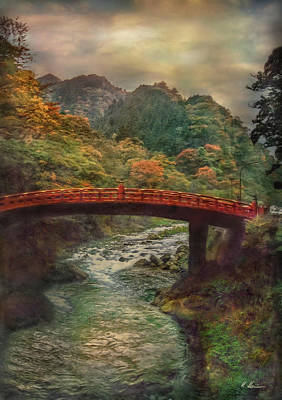 Poster featuring the photograph Sacred Bridge by Hanny Heim