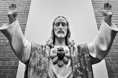 Sacred Heart Of Jesus Poster
