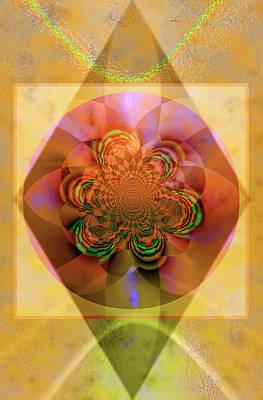 Sacred Rose Poster