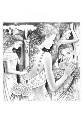 Sad Memories  Poster by Mira Ostojic