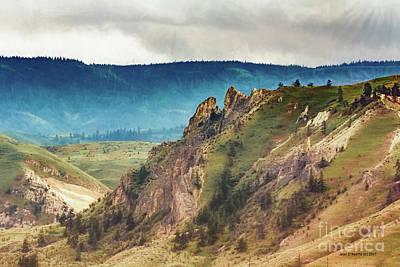 Saddlerock Mountain Poster