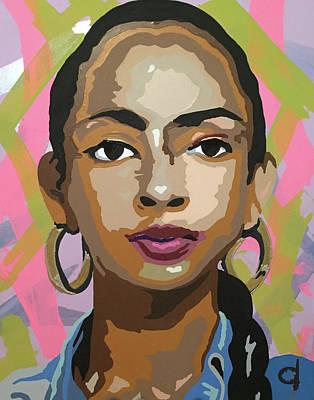 Sade Poster by Chelsea VanHook