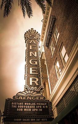 Saenger Theatre Poster