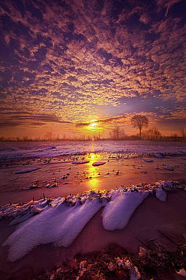 Poster featuring the photograph Safely Secluded In A Far Away Land by Phil Koch