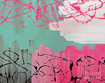 Sage String Poster by Jilian Cramb - AMothersFineArt