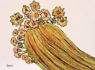 Saguaro Blossoms Poster