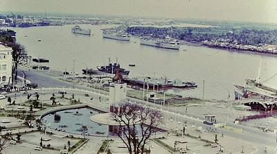 Saigon River, Vietnam 1968 Poster