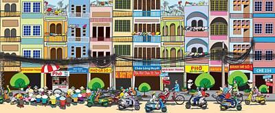 Saigon Street Foods #2 Poster