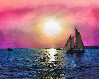 Sail Away Poster by Anthony Caruso