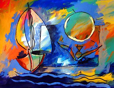 Sailboat 1 Poster