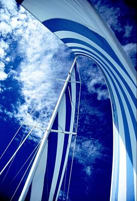 Sailing Along Poster