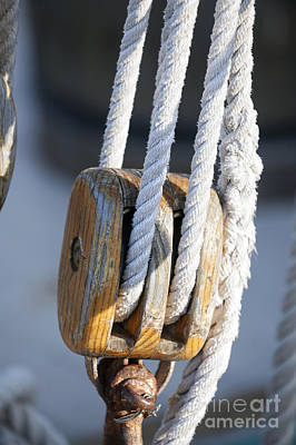 Sailing Block Poster