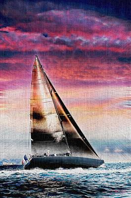 Sailing Boat Nautical 1 Poster