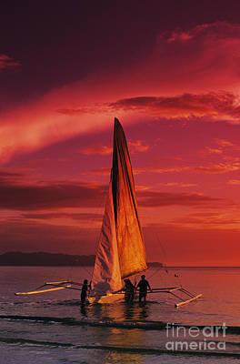 Sailing, Boracay Island Poster