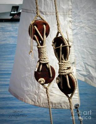 Sailing Dories 2 Poster