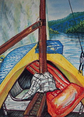 Sailing Lake Roosevelt Poster