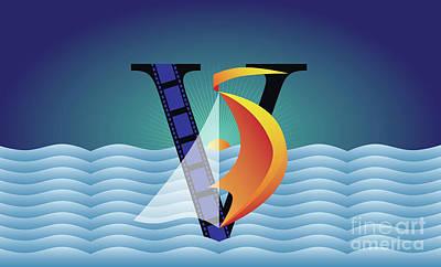 Sailing No. 5 Poster
