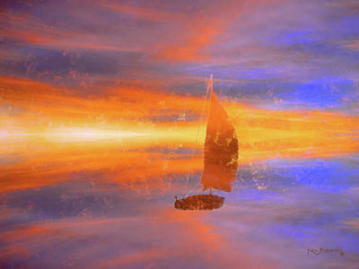 Sailing On Dreamy Bay Poster