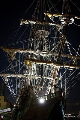 Savannah Sailing Ships Shipping Art Poster