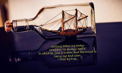 Sailing Takes Me Away Poster