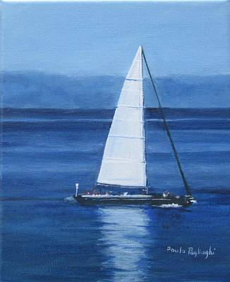 Sailing The Blues Poster