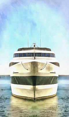 Sailing The Seven Seas Poster