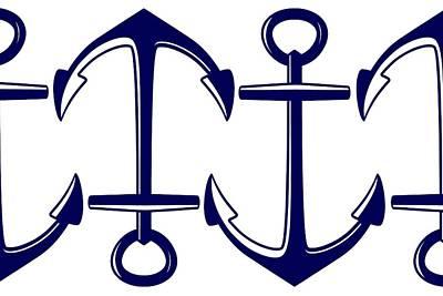 Sailors Anchor Poster